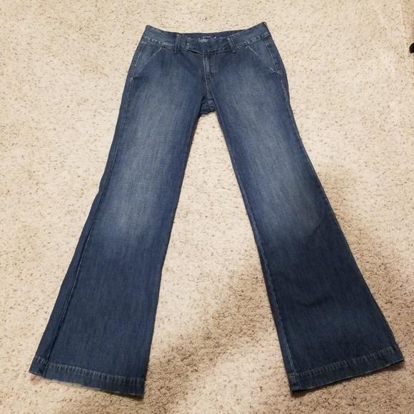 c93897fa17 Old Navy Jeans   Wide Leg Trouser Size 4 Regular   Poshmark